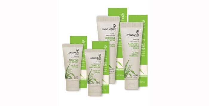 News Sensitive Skin Range From Living Nature